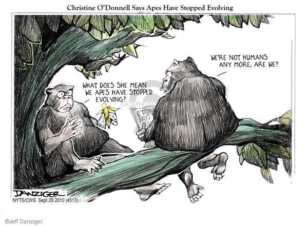 Cartoonist Jeff Danziger  Jeff Danziger's Editorial Cartoons 2010-09-29 party loyalty