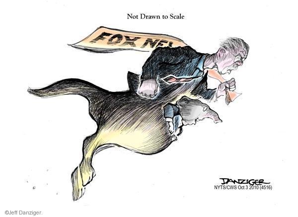 Cartoonist Jeff Danziger  Jeff Danziger's Editorial Cartoons 2010-10-03 conservative media