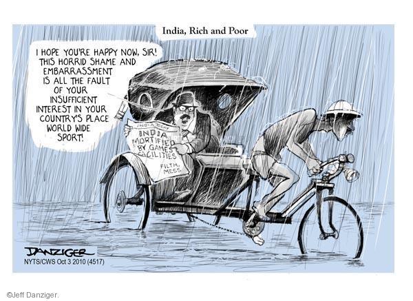 Cartoonist Jeff Danziger  Jeff Danziger's Editorial Cartoons 2010-10-03 event