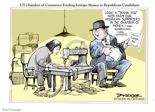 Jeff Danziger  Jeff Danziger's Editorial Cartoons 2010-10-07 chinese