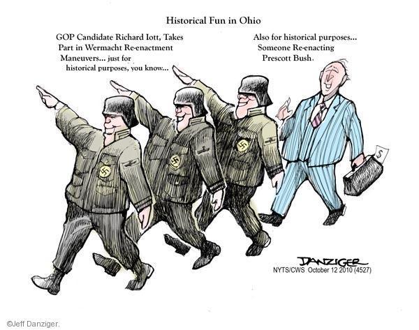 Cartoonist Jeff Danziger  Jeff Danziger's Editorial Cartoons 2010-10-12 republicans 2010 election