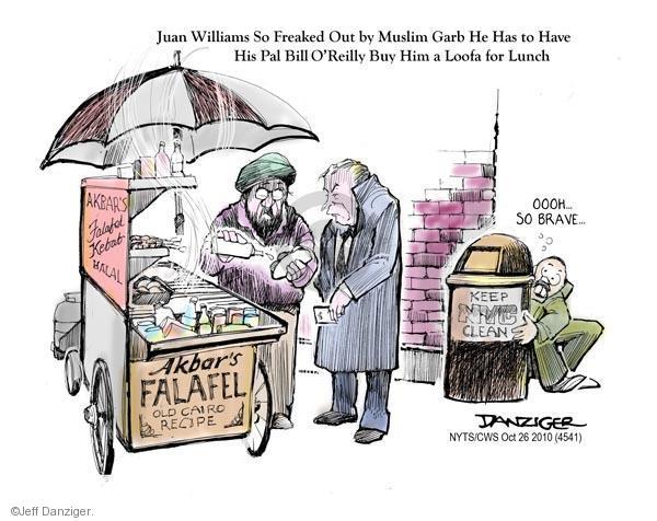 Cartoonist Jeff Danziger  Jeff Danziger's Editorial Cartoons 2010-10-26 remark