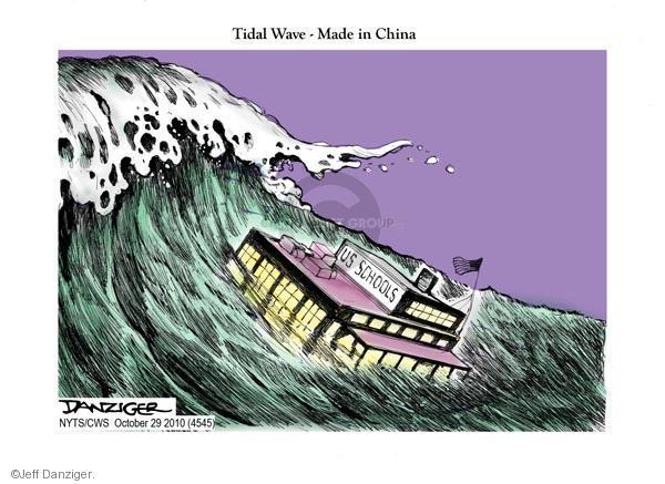 Jeff Danziger  Jeff Danziger's Editorial Cartoons 2010-10-29 chinese