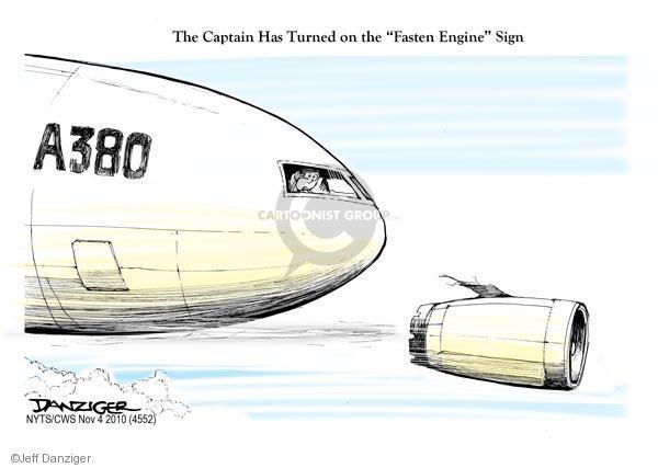 Jeff Danziger  Jeff Danziger's Editorial Cartoons 2010-11-04 captain