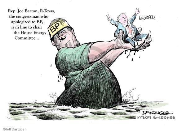 Cartoonist Jeff Danziger  Jeff Danziger's Editorial Cartoons 2010-11-04 gasoline