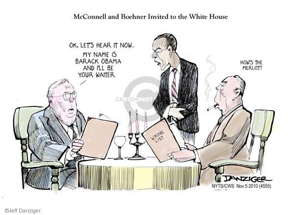 Jeff Danziger  Jeff Danziger's Editorial Cartoons 2010-11-05 executive branch