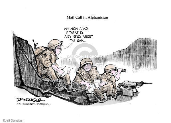 Jeff Danziger  Jeff Danziger's Editorial Cartoons 2010-11-07 news media