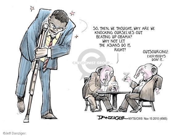 Jeff Danziger  Jeff Danziger's Editorial Cartoons 2010-11-15 employment work
