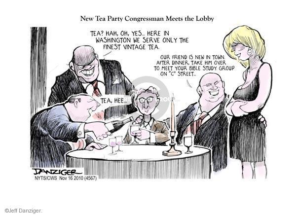 Cartoonist Jeff Danziger  Jeff Danziger's Editorial Cartoons 2010-11-16 party loyalty