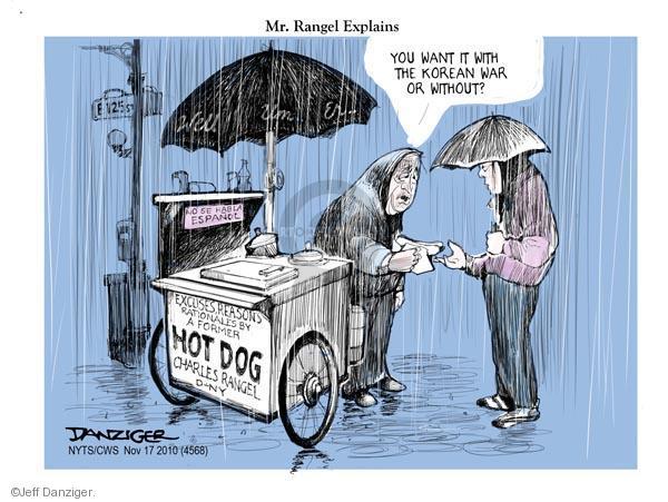 Jeff Danziger  Jeff Danziger's Editorial Cartoons 2010-11-17 political ethics