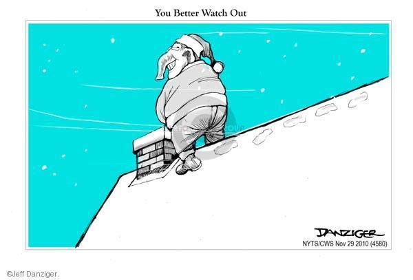 Cartoonist Jeff Danziger  Jeff Danziger's Editorial Cartoons 2010-11-29 roof