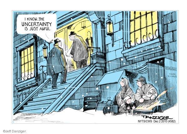 Jeff Danziger  Jeff Danziger's Editorial Cartoons 2010-12-02 concentration