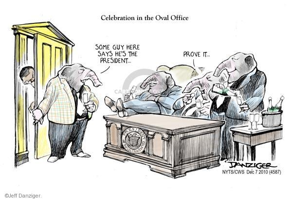 Cartoonist Jeff Danziger  Jeff Danziger's Editorial Cartoons 2010-12-07 White House