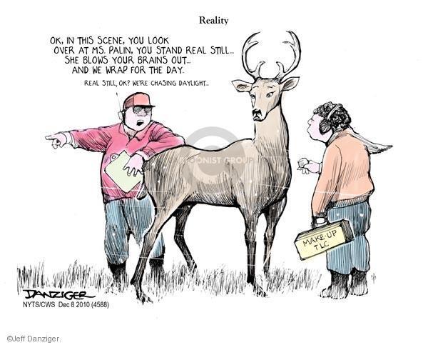 Jeff Danziger  Jeff Danziger's Editorial Cartoons 2010-12-08 reality