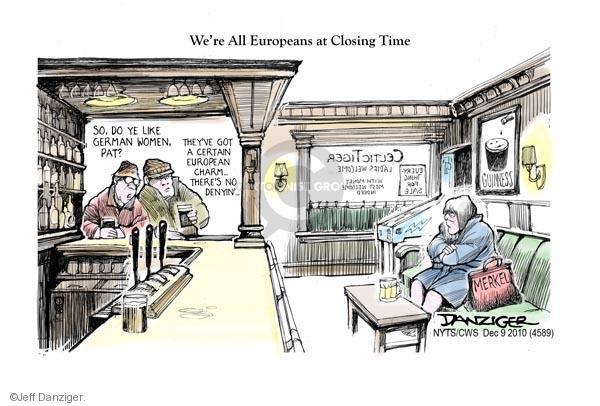 Cartoonist Jeff Danziger  Jeff Danziger's Editorial Cartoons 2010-12-09 Ireland
