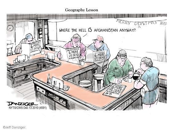 Cartoonist Jeff Danziger  Jeff Danziger's Editorial Cartoons 2010-12-13 United States