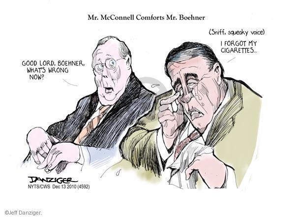 Cartoonist Jeff Danziger  Jeff Danziger's Editorial Cartoons 2010-12-13 leadership
