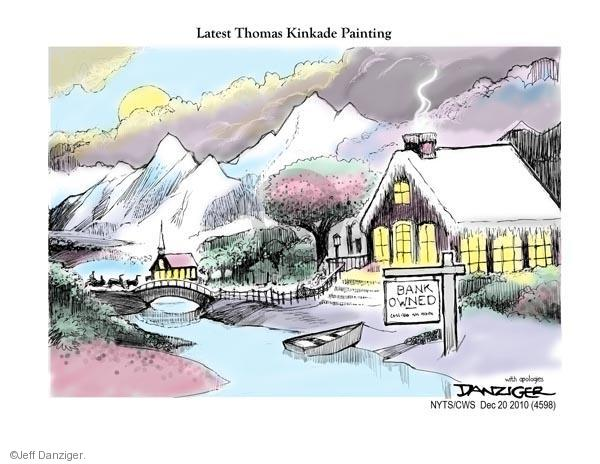 Jeff Danziger  Jeff Danziger's Editorial Cartoons 2010-12-20 real estate