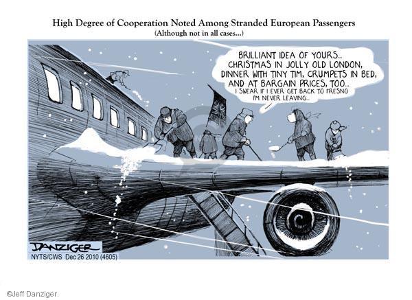 Jeff Danziger  Jeff Danziger's Editorial Cartoons 2010-12-26 among