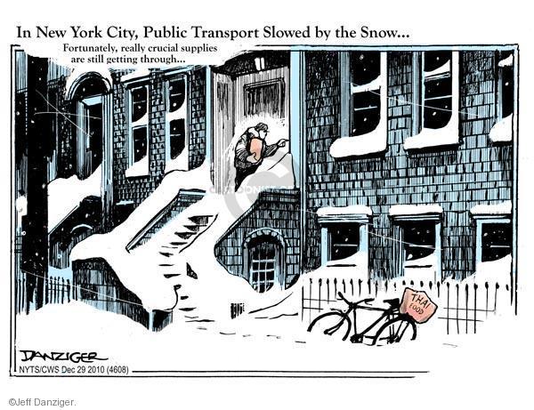 Cartoonist Jeff Danziger  Jeff Danziger's Editorial Cartoons 2010-12-29 slow