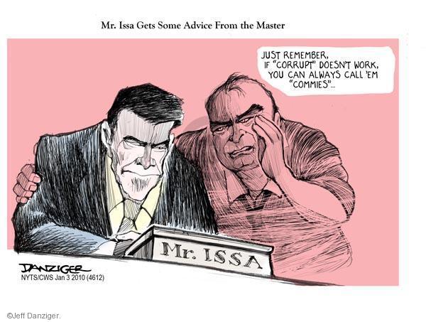Jeff Danziger  Jeff Danziger's Editorial Cartoons 2011-01-03 congressional