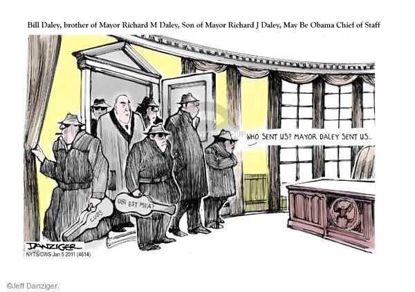 Cartoonist Jeff Danziger  Jeff Danziger's Editorial Cartoons 2011-01-05 Oval Office