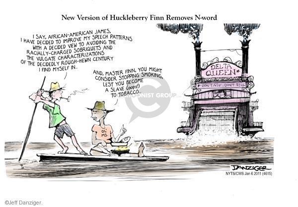 Jeff Danziger  Jeff Danziger's Editorial Cartoons 2011-01-06 racism