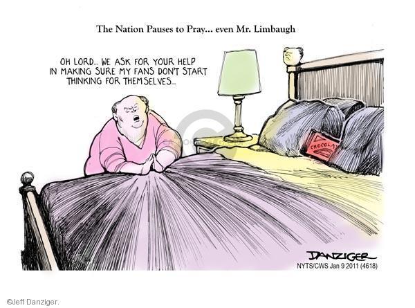 Cartoonist Jeff Danziger  Jeff Danziger's Editorial Cartoons 2011-01-09 talk radio