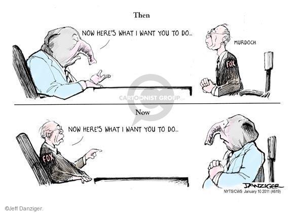 Jeff Danziger  Jeff Danziger's Editorial Cartoons 2011-01-10 fox