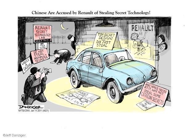 Cartoonist Jeff Danziger  Jeff Danziger's Editorial Cartoons 2011-01-11 automotive