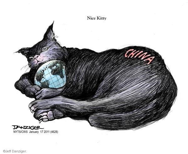 Jeff Danziger  Jeff Danziger's Editorial Cartoons 2011-01-17 globe