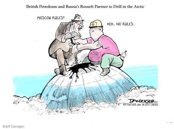 Cartoonist Jeff Danziger  Jeff Danziger's Editorial Cartoons 2011-01-18 Moscow
