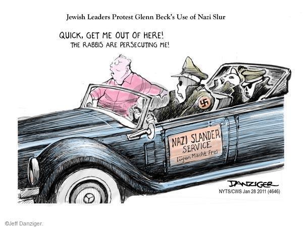 Cartoonist Jeff Danziger  Jeff Danziger's Editorial Cartoons 2011-01-28 Glenn