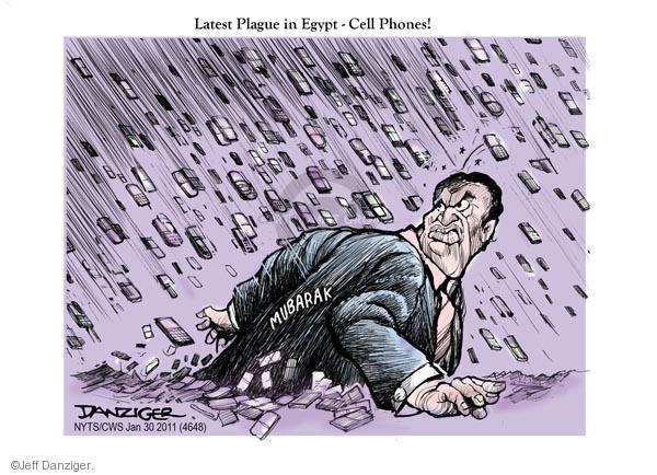 Cartoonist Jeff Danziger  Jeff Danziger's Editorial Cartoons 2011-01-30 riot