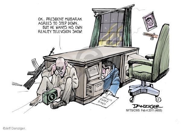 Cartoonist Jeff Danziger  Jeff Danziger's Editorial Cartoons 2011-02-04 international relations