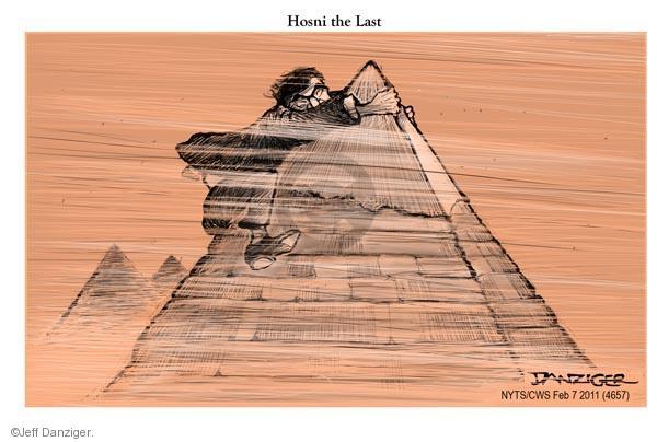 Jeff Danziger  Jeff Danziger's Editorial Cartoons 2011-02-07 pyramid