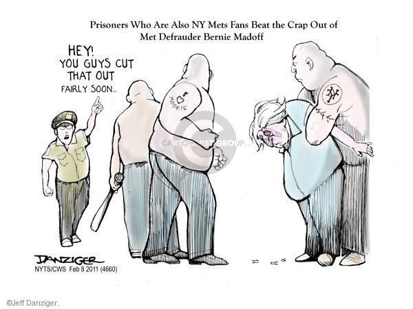 Cartoonist Jeff Danziger  Jeff Danziger's Editorial Cartoons 2011-02-08 prisoner