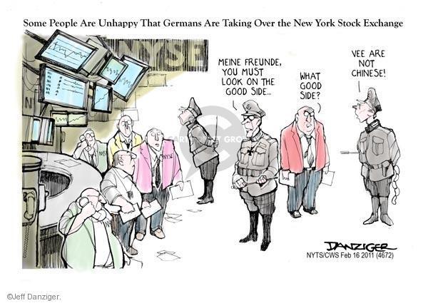 Jeff Danziger  Jeff Danziger's Editorial Cartoons 2011-02-16 stock market