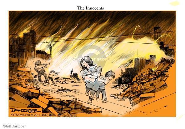 Jeff Danziger  Jeff Danziger's Editorial Cartoons 2011-02-24 civilian