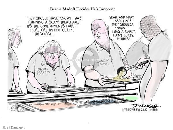 Jeff Danziger  Jeff Danziger's Editorial Cartoons 2011-02-28 guilty