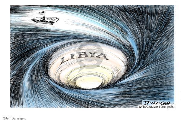 Jeff Danziger  Jeff Danziger's Editorial Cartoons 2011-03-01 caption