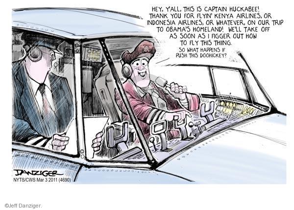 Jeff Danziger  Jeff Danziger's Editorial Cartoons 2011-03-03 captain