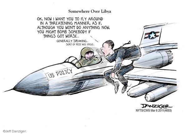 Cartoonist Jeff Danziger  Jeff Danziger's Editorial Cartoons 2011-03-06 United States Air Force