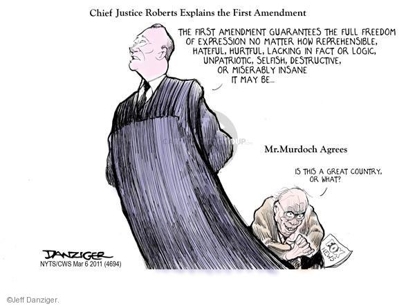 Cartoonist Jeff Danziger  Jeff Danziger's Editorial Cartoons 2011-03-06 opinion