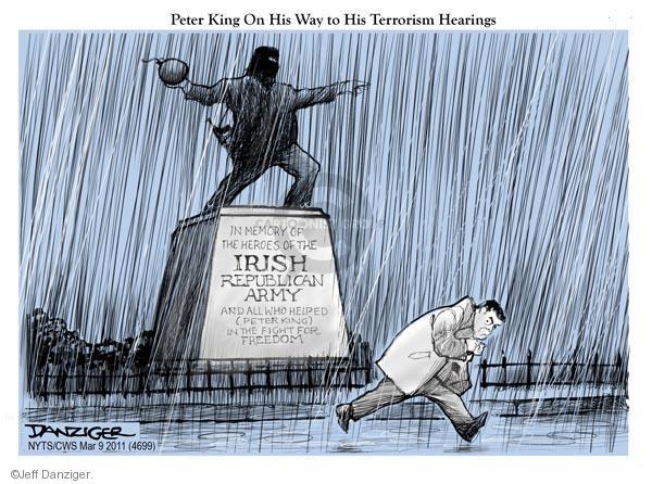 Cartoonist Jeff Danziger  Jeff Danziger's Editorial Cartoons 2011-03-09 Ireland