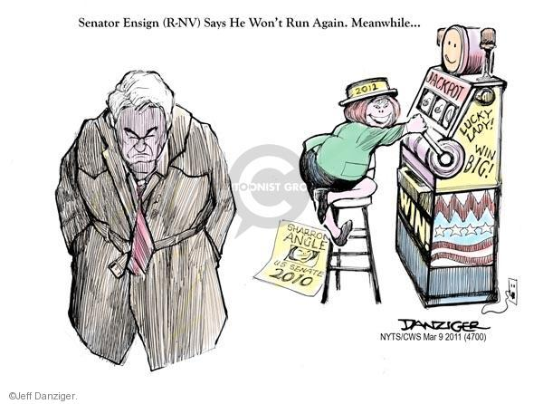Jeff Danziger  Jeff Danziger's Editorial Cartoons 2011-03-09 republicans 2010 election