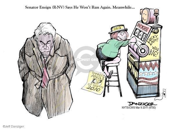 Cartoonist Jeff Danziger  Jeff Danziger's Editorial Cartoons 2011-03-09 United States