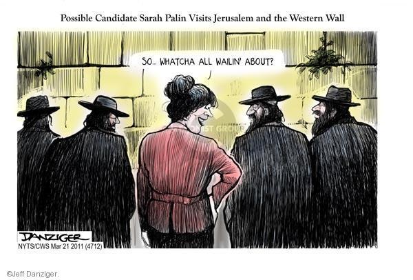 Cartoonist Jeff Danziger  Jeff Danziger's Editorial Cartoons 2011-03-21 Israel