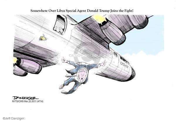 Cartoonist Jeff Danziger  Jeff Danziger's Editorial Cartoons 2011-03-22 Air Force