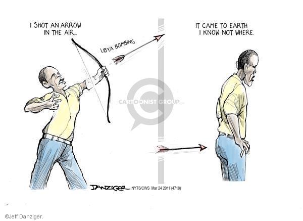Cartoonist Jeff Danziger  Jeff Danziger's Editorial Cartoons 2011-03-24 Barack Obama
